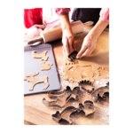Формочки для печенья IKEA Дроммар серебристый фото