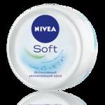 Интенсивно увлажняющий крем NIVEA Soft для лица, рук и тела фото