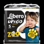 Подгузники-трусики Libero Up&Go Zoo Collection фото