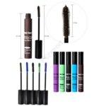 Тушь для ресниц Aliexpress   New 5 Colors / Set Smoky Lash Mascara Waterproof for the Eyes Eyelash Growth Makeup,1068 фото