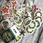 Наклейки AliExpress 45 pcs/lot The Colorful Of Christmas Deer Decorative Stationery Stickers Scrapbooking Diy Diary Album Stick Label фото