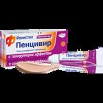 Противовирусные средства Novartis Фенистил Пенцивир Тонировочный фото