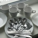 Набор столовых приборов IKEA MOPSIG  фото