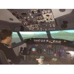 Полет на авиатренажере фото
