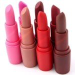 Матовая помада для губ Aliexpress Hot Natural Sexy Red Lips Matte Velvet Lipstick Pencil Cosmetic Long Lasting Makeup Brown Matte Lipstick фото
