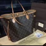 Сумка Louis Vuitton Neverfull фото