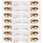 Цветные контактные линзы  EyeArt Adore фото