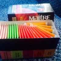 Чай в пакетиках Maitre de The ароматизированный фото