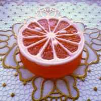 Мыло с маслом виноградной косточки и эфирным маслом сладкого апельсина