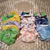 Многоразовые подгузники для новорожденных на липучках Антиподгузник фото