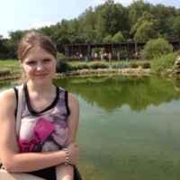 Я  и озеро ))
