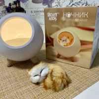 Моя любовь с первого взгляда! Функциональный ночник и милейший котёнок-игрушка