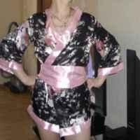 Халат AliExpress Japanese Kimono Bath Robe Womens Sleepwear Dress Temptation Lingerie Nightdress Night Gown Ladies Nightwear Robes  фото