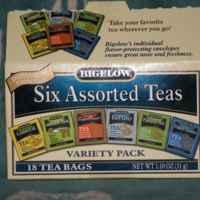 Чай в пакетиках Bigelo Six Assorted Teas, Variety Pack фото