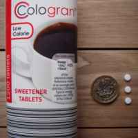 Cologran Low Calorie 1200 Tablets Sweetener Tablets