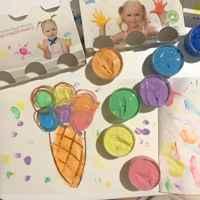 Пальчиковые краски для самых маленьких