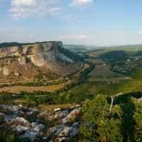вид на горы Крыма