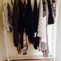IKEA РИГГА Напольная вешалка фото