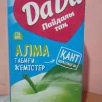Сок DaDa Здоровое утро Зеленое яблоко фото
