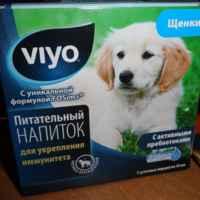 Пребиотический напиток VIYO для пожилых кошек фото