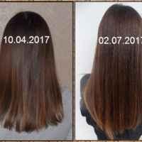 волосы /дневной свет/кончики видно, что поврежденые