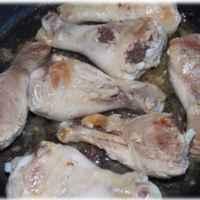 Голень цыпленка бройлера Мираторг с кожей фото
