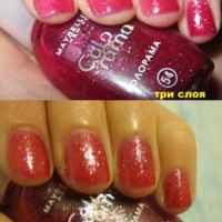 Лак для ногтей MAYBELLINE  Colorama фото