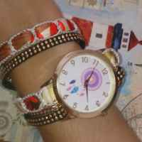 Часы - браслет Wish Multi-Wrap Dreamcatcher Friendship Bracelet Watches Women Braid Dress Quartz Wrist Watch фото