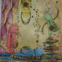 Зендудл. Книга-раскраска. Диляра Голубятникова фото