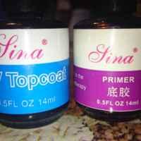 Стартовый набор UV гелей Sina (Lina) 3 Color pink white clear UV GEL polish NAIL KIT Primer Form cleanser plus Tips kits Sets 1194 фото