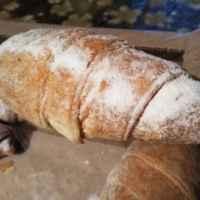 Пирожное ФЛП Бердникова Н.И. Трубочка слоеная с кремом из сливок фото