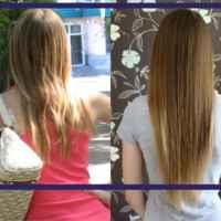 Вообще решилась написать отзыв только потому, что многие из моего окружения заметили что за лето волосы выросли на много.