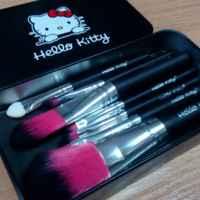 Кисти для макияжа Aliexpress   Мягкий синтетические волосы наборы для макияжа, набор Косметический Красота кисти для макияжа Черный Наборы с кожаный чехол фото