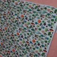 Многоразовая трехслойная впитывающая (непромокаемая) пеленка GlorYes! фото