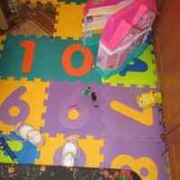 Детский коврик Auchan ПАЗЛ МЯГКИЙ BABY  10 элементов фото