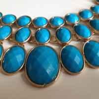 Колье H&M Лазурно-голубое фото