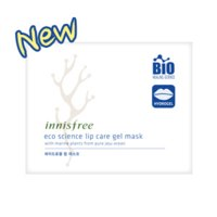 Маска для ухода за кожей губ Innisfree Eco science lip care gel mask фото