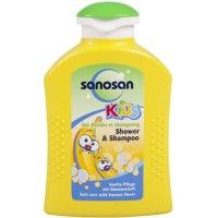 Гель для душа - шампунь Sanosan Kids Банан фото