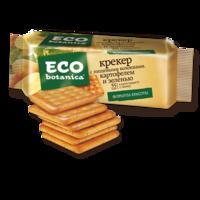Крекер ECO Botanica  с пищевыми волокнами, картофелем и зеленью фото