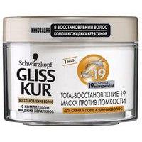 Маска для волос Gliss kur TOTAL-ВОССТАНОВЛЕНИЕ 19 ПРОТИВ ЛОМКОСТИ фото