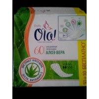 Прокладки ежедневные Ola! Daily с Алоэ вера фото