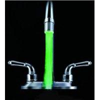 Светодиодная насадка на кран Buyincoins New Bathroom Kitchen Mini LED Light Water Stream Faucet Tap фото