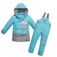 Верхняя одежда AliExpress Winter Children's Duck Down Jacket Suits фото