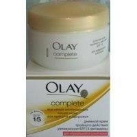 Крем для лица Olay complete для нормальной и сухой кожи фото