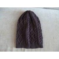 Шапка AliExpress вязанная Toucas De Inverno 2015 Chapeu Feminino Twist Pattern Women Winter Hat Knitted Sweater Fashion Hats For Women New Design Caps фото