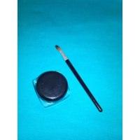 Гелевая подводка Aliexpress Free Shipping cosmetic kit black liquid eyeliner waterproof eyeliner pencil eyeshadow gel eyeliner makeup brush + Black MK0005 фото
