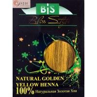 Хна для волос   хна золотисто -желтая bis фото