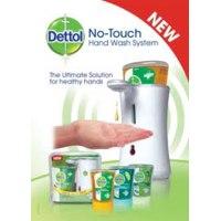 Диспенсер  Detoll для антибактериального жидкого мыла с сенсорной системой. фото