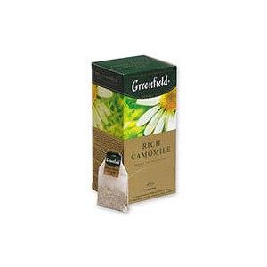Чай в пакетиках Гринфилд (Greenfield) Rich camomile фото