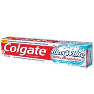 Зубная паста Colgate МаксБлеск с отбеливающими пластинками фото